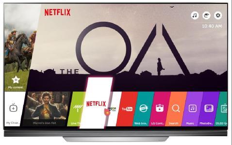 LG 4K UHD TV Netflix Promotion