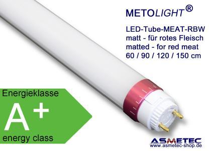 METOLIGHT LED-MEAT-Röhren für Fleischtheken mit Rindfleisch