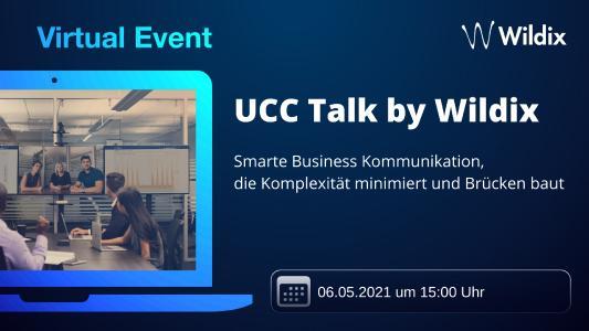 UCC Talk by Wildix am 6. Mai 2021