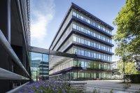 Sonnenschutzglas Pilkington Suncool™ 66/33 Rohde und Schwarz Campus, München Foto: Marcus Pietrek