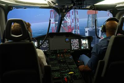 Airbus Helicopters' EC175 full-flight simulator is ready for service
