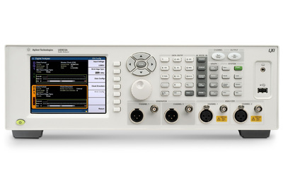 Agilent Technologies Introduces Audio Analyzer with New Digital Audio Interface Options