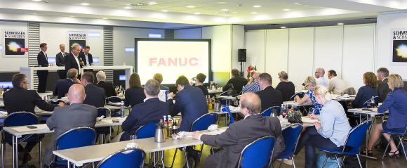 Gut besucht war die Pressekonferenz zur SCHWEISSEN & SCHNEIDEN in Essen (Quelle: Rainer Schimm/MESSE ESSEN)