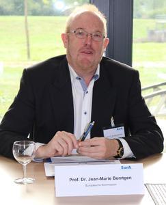 Prof. Dr. Jean-Marie Bemtgen stellte die neue EU-Energiestrategie vor.