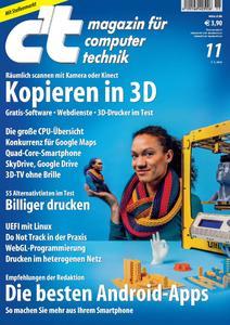 Das Titelbild der aktuellen c't-Ausgabe 11/2012