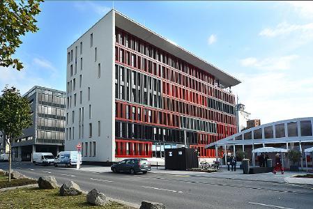 Der neue Standort der XCOM AG in Frankfurt: Lindleystraße 11