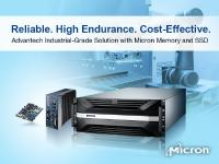 Advantech Joins Micron's Industrial Quotient (IQ) Partner Program to Ensure Reliability and Longevity for Industrial AIoT Industries