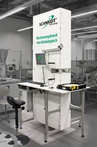 Der neue Vertikal-Abgleichkanal eliminiert beim Sensorabgleich Einflüsse aus der Messpraxis und ermöglicht erstmals den exakt an die Einsatzbedingungen angepassten Sensorabgleich