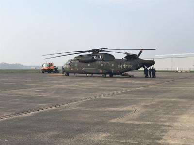 All systems go: Rheinmetall takes over maintenance of first two German Air Force CH-53G transport helicopters at Diepholz Air Base