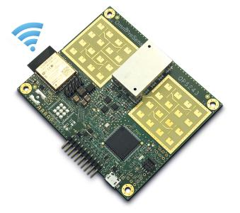 Single-Board-Radarsensor OPS243-C-FC-WB