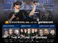 Caseking @ gamescom 2018 - The Future Of Gaming auf über 450 m²!