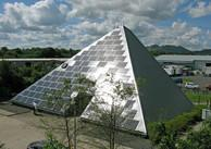 Solar pyramid in Scotland
