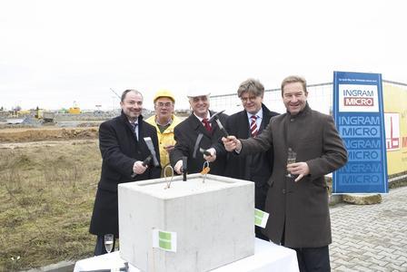 Goodman und Ingram Micro legen Grundstein für ein zusätzliches 40.000m² großes Lager in Straubing, Bayern