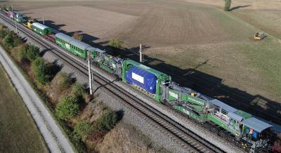 Ganzzüge von Kübler mit mehreren LÜ-Sendungen bis 348 t fahren bereits regelmäßig im Zubringerdienst zum Mannheim Hafen