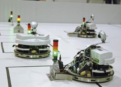 The RoboCup World Championship 2012 in Mexico once again means participants in the Festo Logistics Competition face authentic problems from the fields of production and logistics