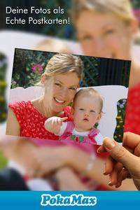 PokaMax iPhone App: Eigene Fotos als Postkarte versenden