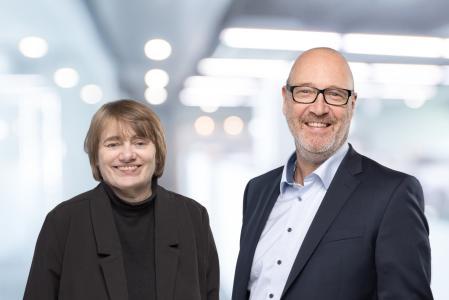 Das neue Führungsduo von FORCAM: Dr. Andrea Rösinger und Oliver Hoffmann