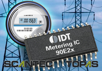 IDT Enters Smart Grid Market with New Family of Metering ICs