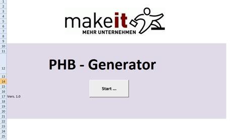 Projekthandbuch-Generator von makeit
