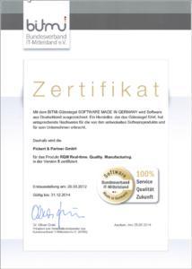 Zertifikat P&P