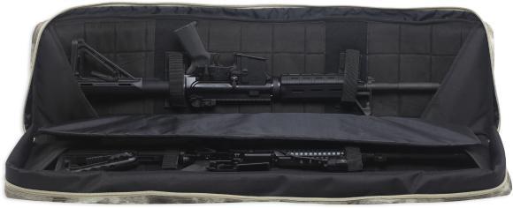 Langwaffen Futteral Tactical Innenansicht 2 schwarz