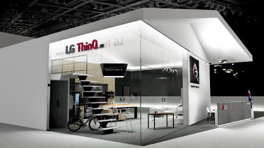 LG ThinQ AI Zone CES 2018