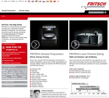 Transforming Old into New or the Relaunch of the FRITSCH Homepage