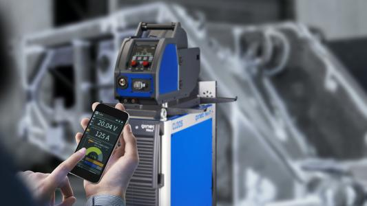 C-Gate now also offers a comprehensive online monitoring of the QINEO welding machines