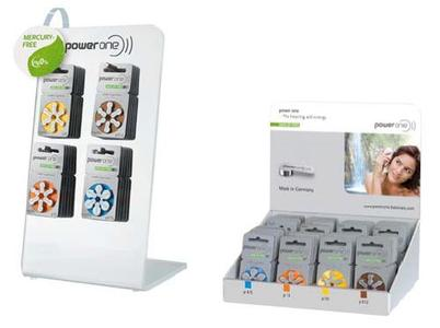 Die neuste Generation power one MERCURY-FREE Batterien