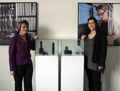 Iris Meister (l.) und Sandra Schwarz (r.) verstärken das GBS-Team