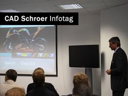 Aktuelle Neuerung in Creo 2.0 wurden auf dem CAD Schroer Infotag gezeigt