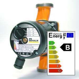 Heizungsumwälzpumpe HUPA mit Energielabel B