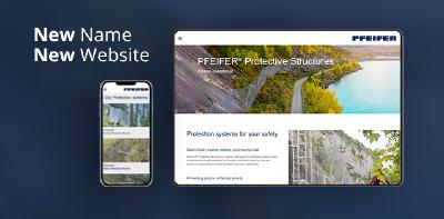 New name and new website for the Business Unit Rockfall Protection Products