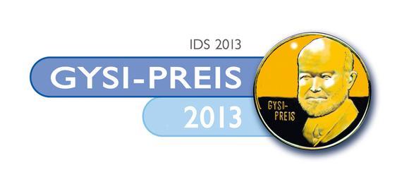 Logo Gysi Preis 2013