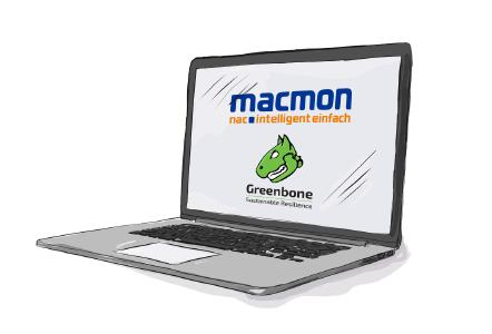Integration between macmon NAC and Greenbone Security Manager now available