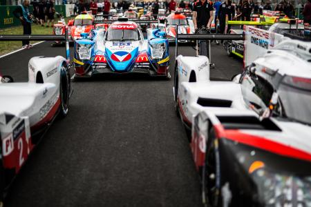 Mit Michel Vaillant und Motul beim 24-Stunden-Rennen  von Le Mans