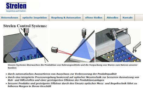 Strelen Control Systems: Überwachen Produktion und Verpackung