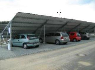 Carport – Stellfläche als Parkplatz