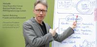 Beim Strategieworkshop gibt der Business Moderator Ralf Hasford auch zum Thema Geschäftsmodell wichtige Impulse.