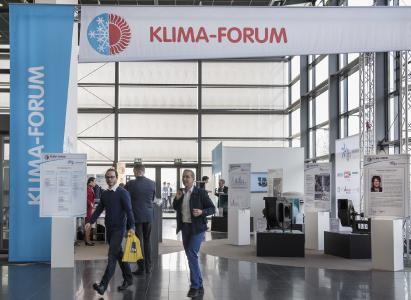 ebm-papst ist mit insgesamt zwei Expertenvorträgen auf der ISH 2019 vertreten, u.a. im Klima-Forum. Diese ist die Informations- und Kommunikationsplattform der Klima-, Kälte- und Lüftungstechnik auf der ISH. (Bild: ebm-papst)