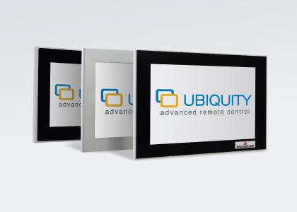 The Ubiquity runtime environment is preinstalled in all Windows-based HMIs of Baumüller and can be connected to a domain