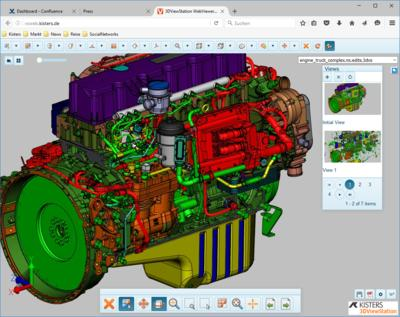 Mechanical product configuration solutions need fast 3D CAD visualization power