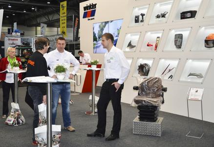 Der neue winkler Messestand ist heller und moderner / Bildquelle: Christian Winkler GmbH & Co. KG