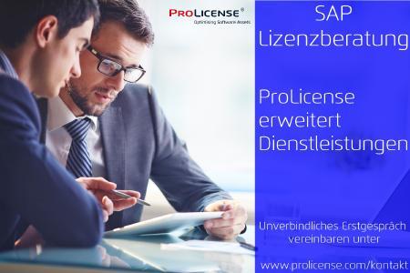 SAP Lizenzberatung - SAP Audit - SAP Lizenzvermessung - SAP Wartungskosten - SAP S/4HANA