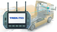 Transport logistic: All-in-One Flottenlösung von Advantech-DLoG