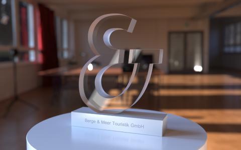 Top-Awards der Spitzenklasse als Sonderanfertigung von M+B: bleibende Erinnerungen in einer immer schnelllebigeren Zeit
