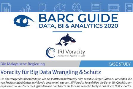 BARC Guide 2020 mit Voracity Use Case