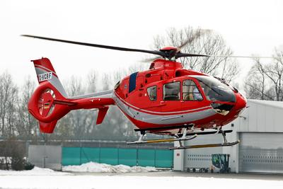 Eurocopter books a new EC135 helicopter order in India and delivers another to an Indian operator