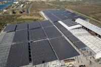 Largest industrial rooftop PV system in France of 6.7MWp inaugurated by Méditourbe and Cap Vert Energie