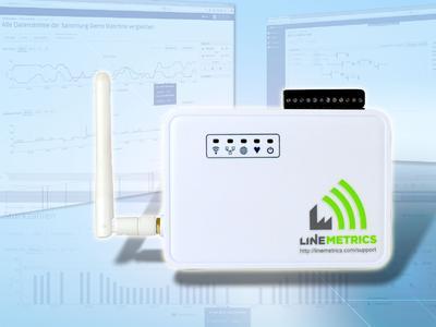 LineMetrics überwacht Produktionsdaten online